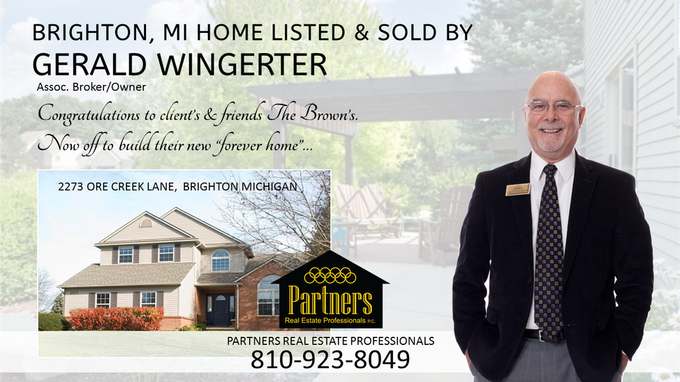 Brighton Home Listed Sold by Gerald Wingerter
