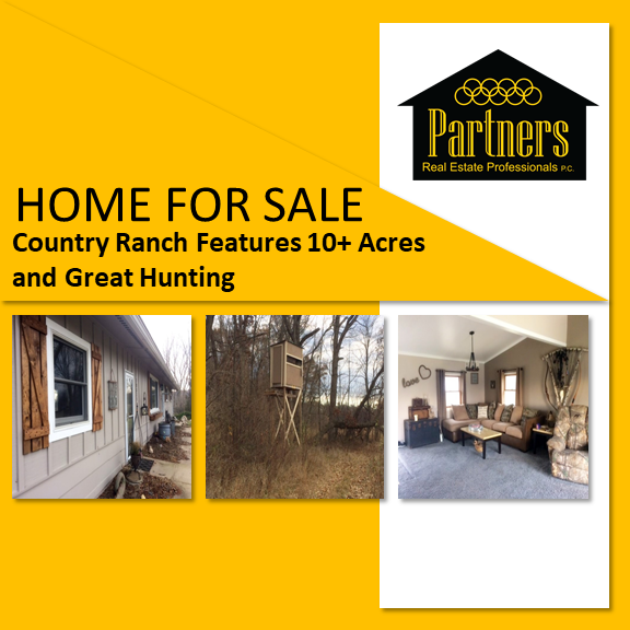 Gregory mi ranch for sale country living on 10 acres for Ranch and rural living