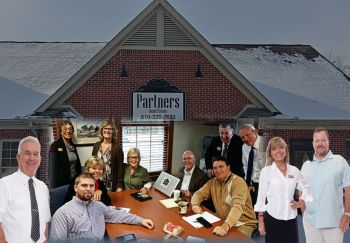 The Partners Real Estate Professionals team.  A locally owned brokerage with top agents and values.