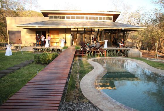 Casa Bambu Entrance