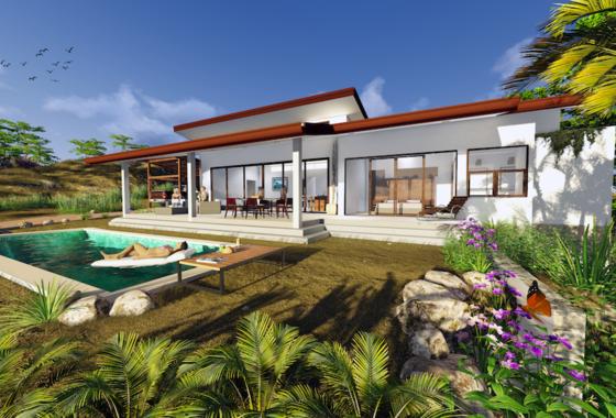 Casa Garza Ocean View Home Playa Grande Costa Rica