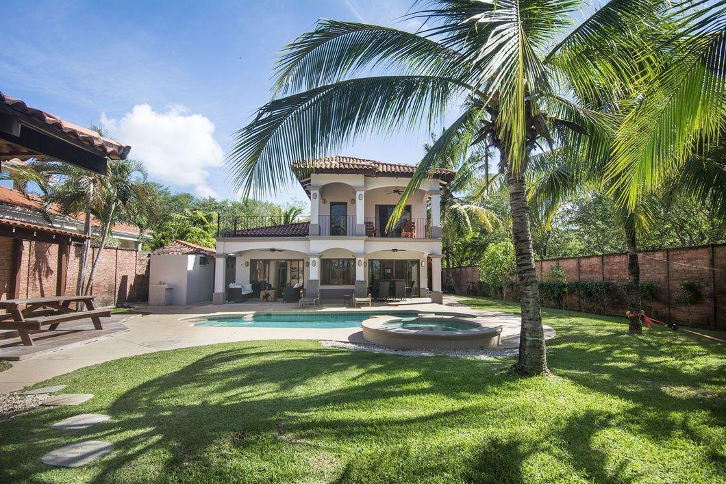 Beach Front Home For Sale Playa Ventanas Costa Rica