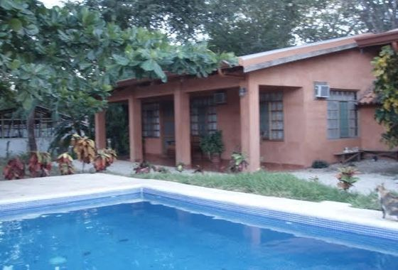 3 small rental homes with swimming pool