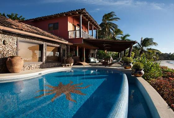 Beach Front home for Sale in Playa Flamingo Costa Rica
