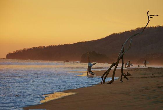 Sunset in Playa Grande
