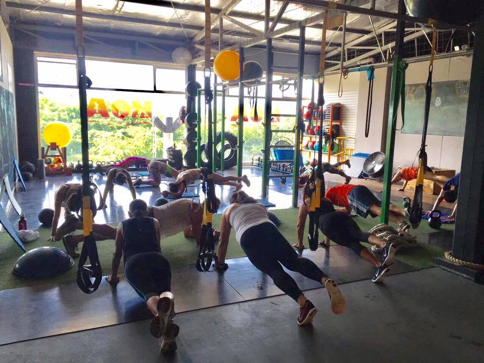 Fitness center near Playa Grande, Costa Rica