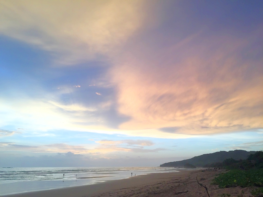 Rainy season in Playa Grande