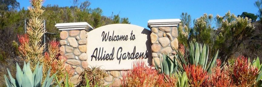 allied gardens real estate sign