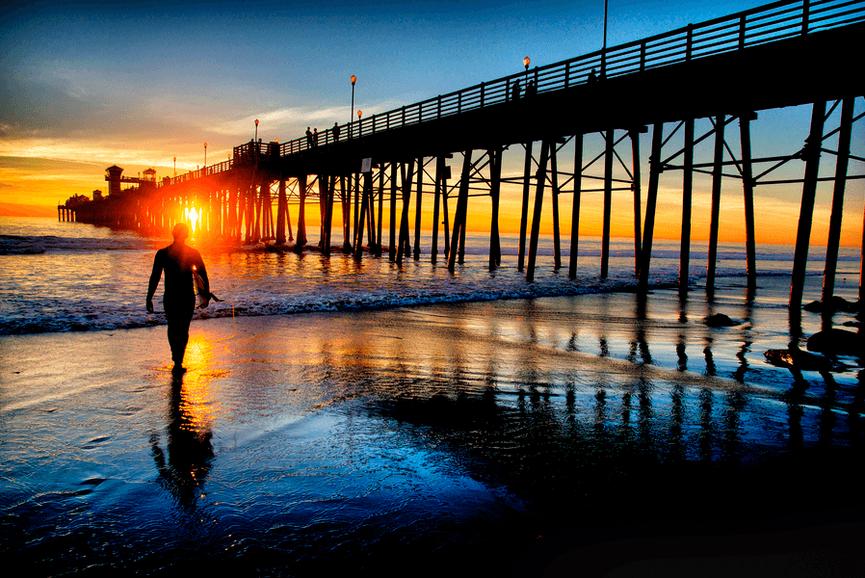 Oceanside real estate pier