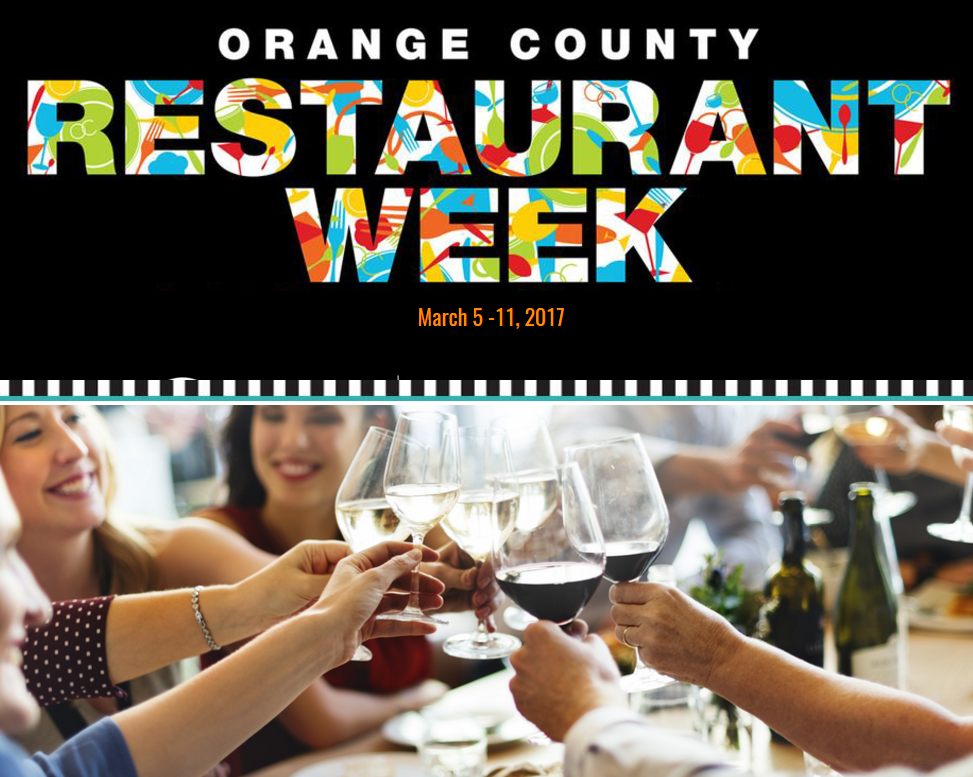 Orange County Restaurant Week 2017