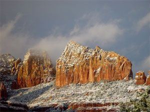 rED rOCK SNOW