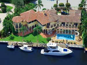 Las Olas Waterfront Homes for Mega Yachts