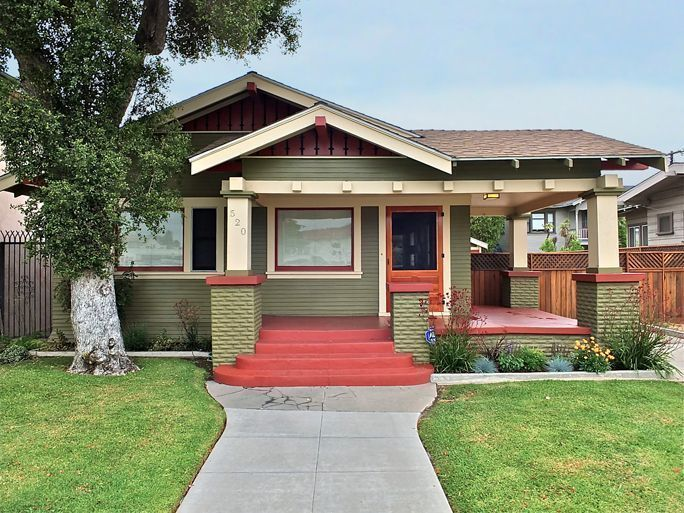 older home in Long Beach CA