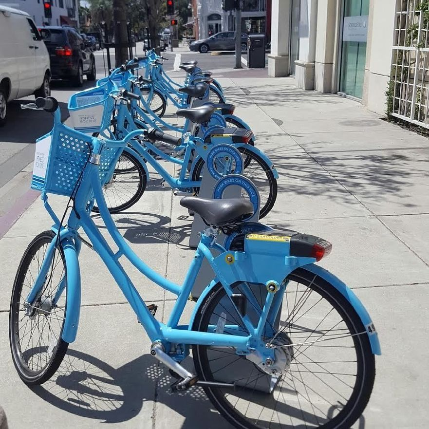 bike share Long Beach