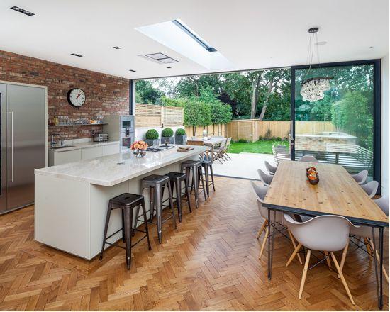 Wood kitchen floors