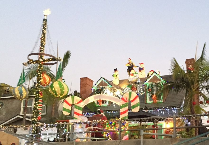 Naples Canal Holiday Lights