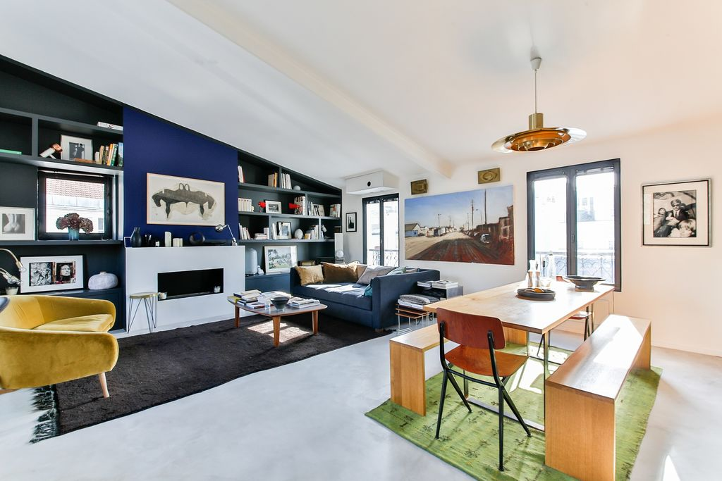 mid-century modern eclectic style