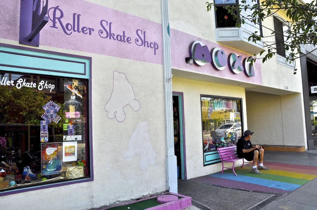 Moxi Skate Shop on Retro Row