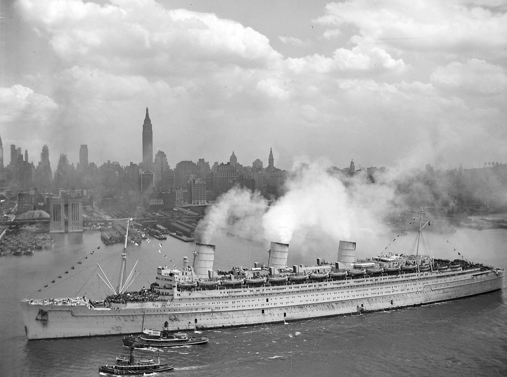 Queen Mary war years