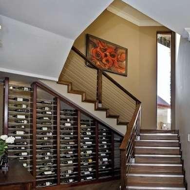 smart under-stairs storage