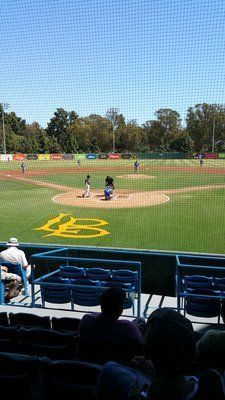 "Blair Field - Home to ""The Dirtbags"""