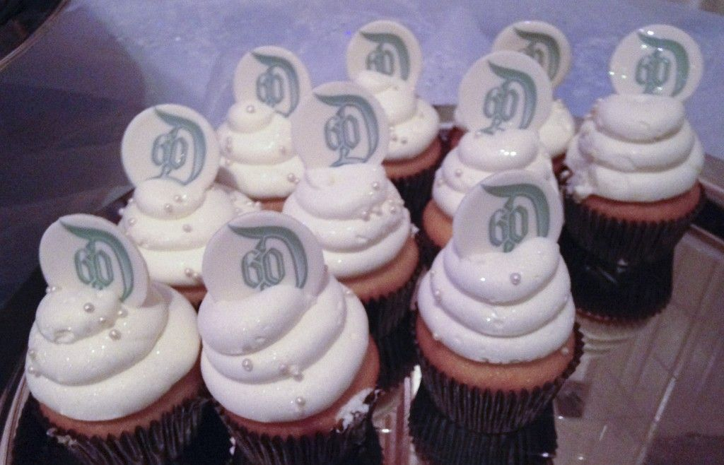 Special cupcakes with the logo for the park's upcoming 60th Diamond Jubilee anniversary celebration were on hand after the birthday celebration.