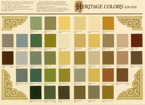 Traditional Heritage Color