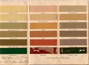 Victorian Colors