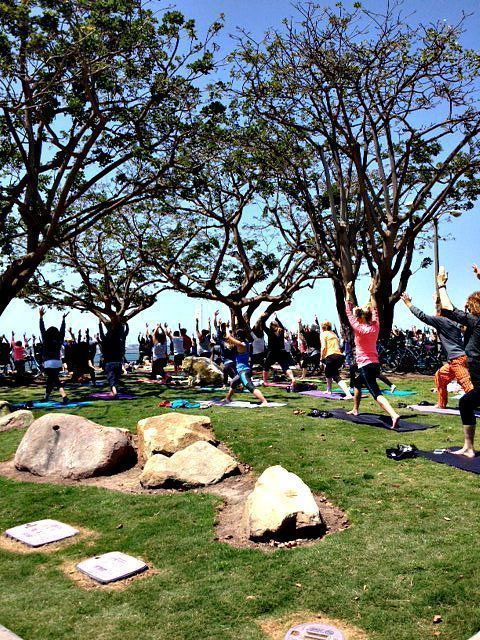 Yoga - Long Beach Bluff