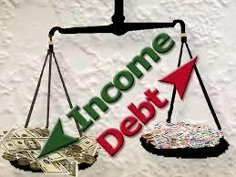 debt income scale