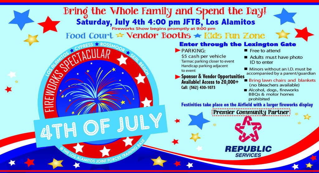 4th of July in Los Alamitos