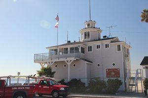 Long Beach Life Guard Station