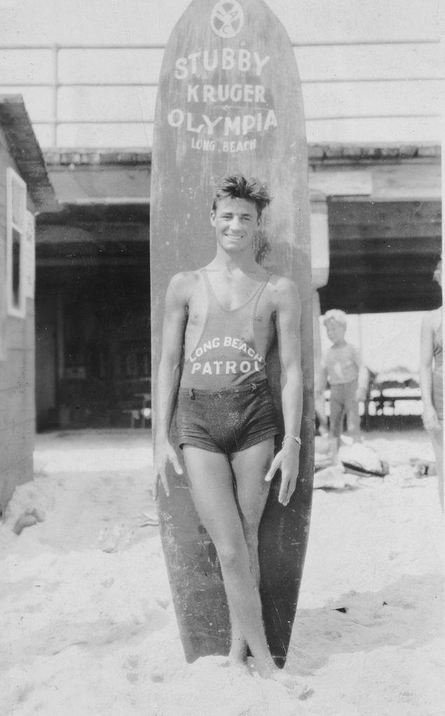 Long Beach Lifeguard 1920