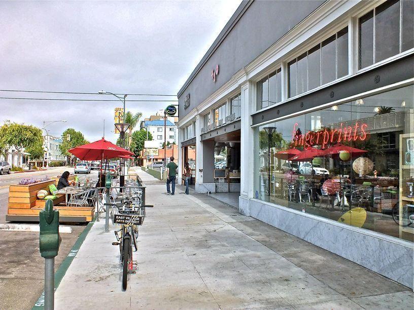 Fingerprints, East Village Arts District, Long Beach, CA
