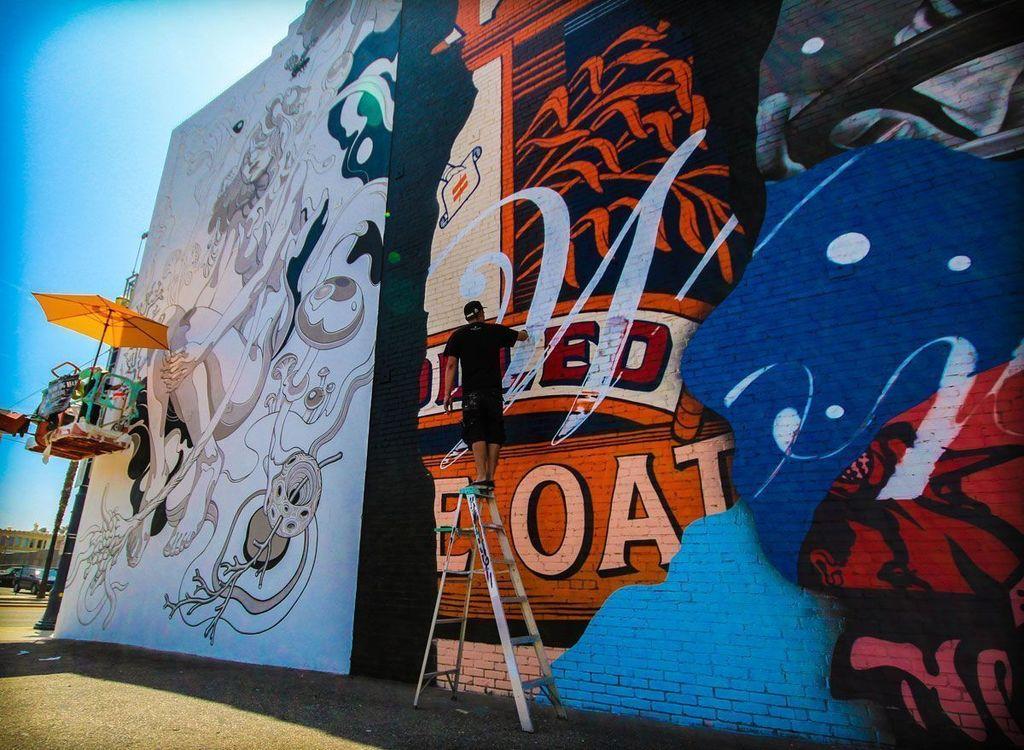 Long Beach October Arts Mon