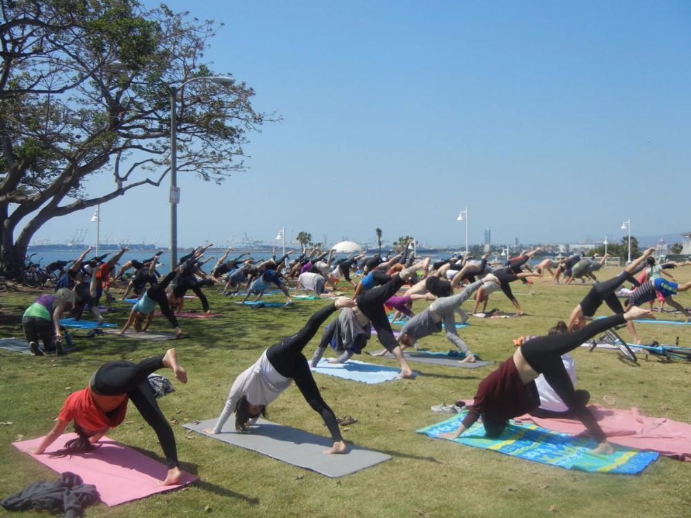 free exercise long beach