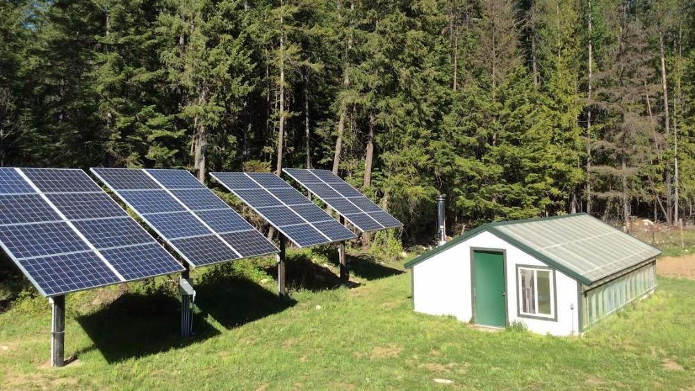 Self-sustaining power sources such as solar are key. Source: Realtor.com