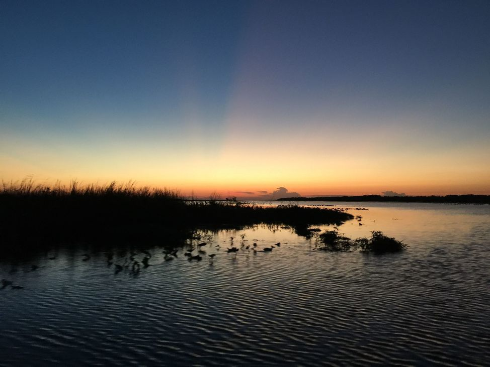 Sunrise on Lake Kissimmee