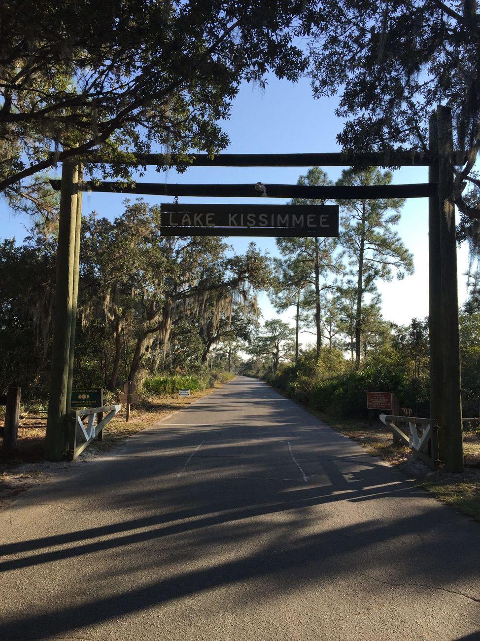 State Park Entrance