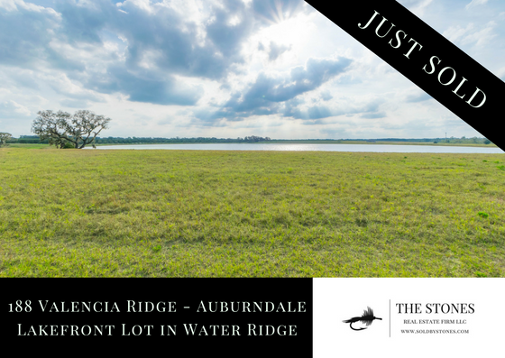 sold lot in water ridge