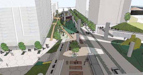 Oscar Park rendering
