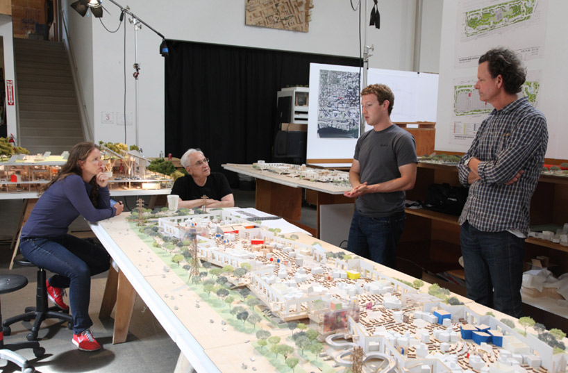 Facebook Zuckerburg and Gehry