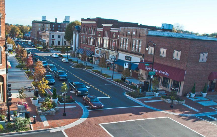 Statesville Aerial View