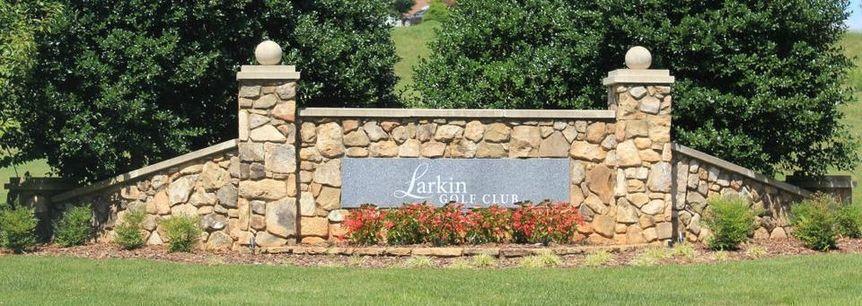 Larkin Golf Club Entrace Sign