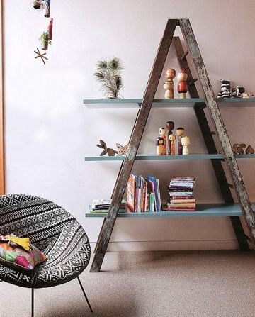 ladder-shelving