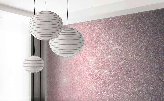 Add Glitter To Your Interior Design