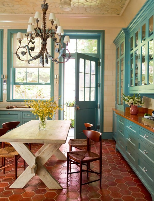 sawyer-berson-teal-and-rust-kitchen