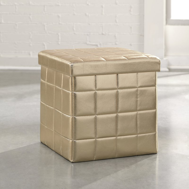 Eliza Storage Ottoman - House of Hampton