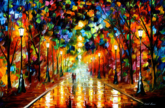 Farewell to Anger - Leonid Afremov