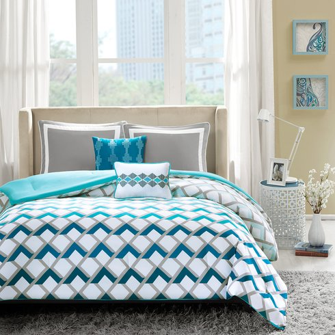 Geometric Bedding - Julius Comforter Set By Zipcode Design